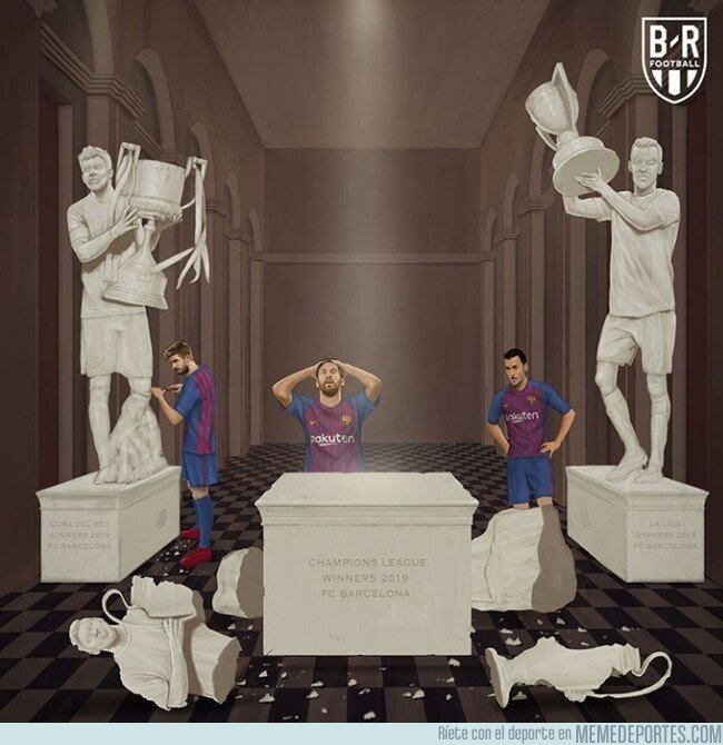1074349 - El Barça echó a perder su triplete, por @brfootball
