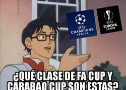 Enlace a Las finales europeas bien podrían ser de copas inglesas
