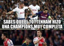 Enlace a El Tottenham se tuvo que medir al resto de semifinalistas para llegar dónde está