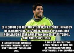 Enlace a Ni en Anfield quieren a Suárez, ni en el Camp Nou