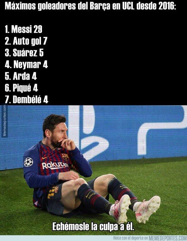 1074698 - Este dato demoledor no exalta a Messi, hunde a todo el equipo.