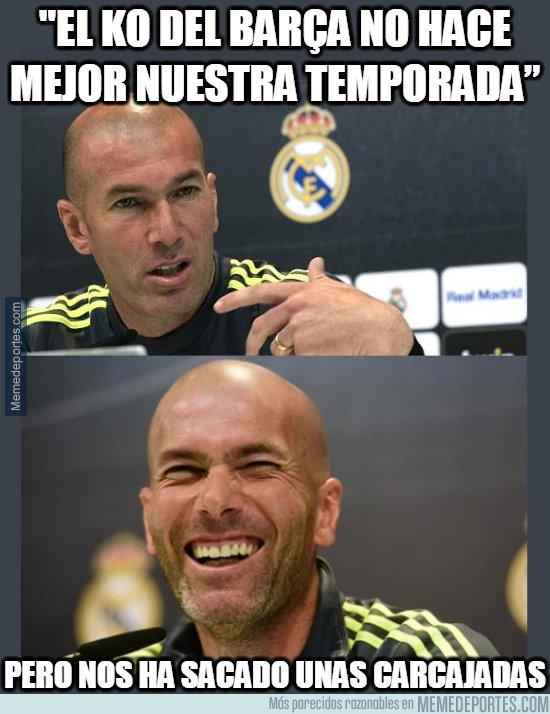 1074700 - Zidane lo tiene claro, la temporada no mejora pero...