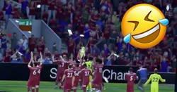 Enlace a Las redes del Manchester City están viralizando y partiéndose con este vídeo del Liverpool ganando la Premier