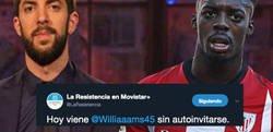 Enlace a 'La Resistencia' anuncia que Iñaki Williams irá al programa a ser entrevistado