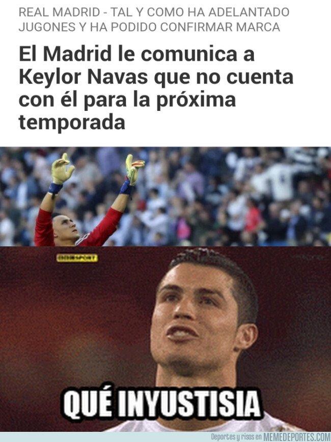 1074940 - El Madrid echa a un portero que solo ha hecho que parar y ganar Champions