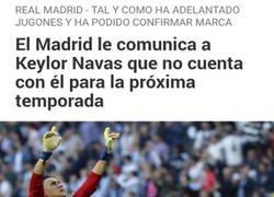 Enlace a El Madrid echa a un portero que solo ha hecho que parar y ganar Champions
