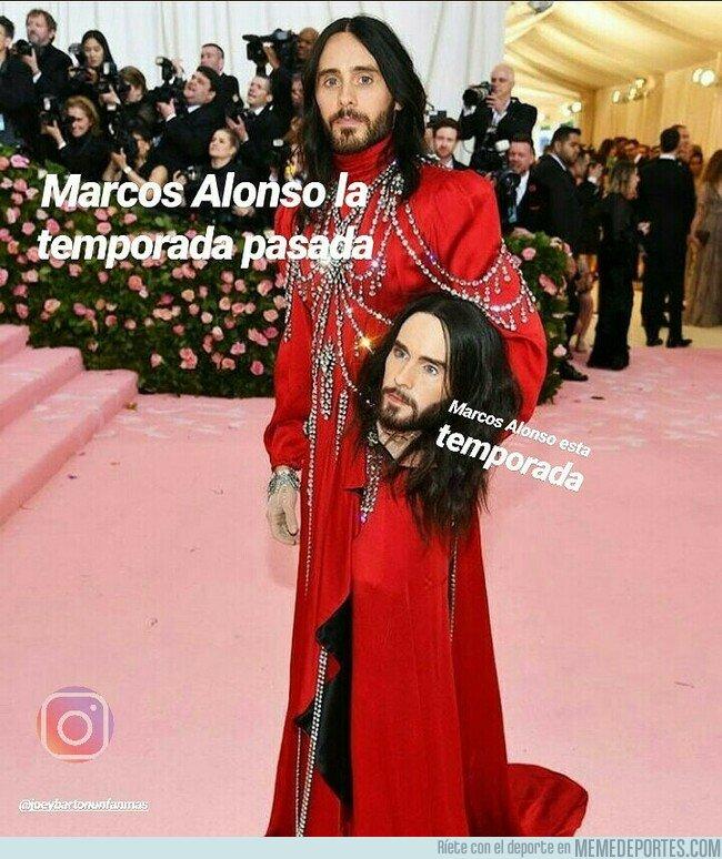 1075035 - Está temporada de Marcos Alonso es de no tener piernas... Ni brazos... Ni cuerpo