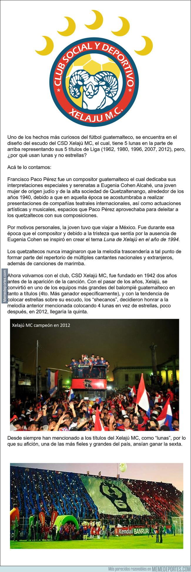 1075216 - Historias del fútbol guatemalteco... Las lunas del Xelajú MC