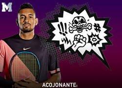 Enlace a Lo peor de Nick Kyrgios. Un tipo que no ama el tenis.