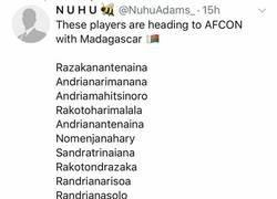Enlace a Actividad de riesgo este verano: narrar a la selección de Madagascar en la Copa África, por @aitorlagunas