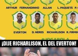 Enlace a Tite convoca a Everton pero nadie sabe quién es