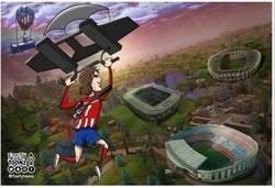 Enlace a Parece que Griezmann acabará aterrizando en Països Blaugranas, por @footytoonz