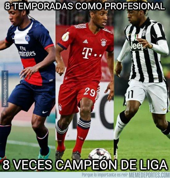 1075414 - Campeón en 3 ligas diferentes con 22 años