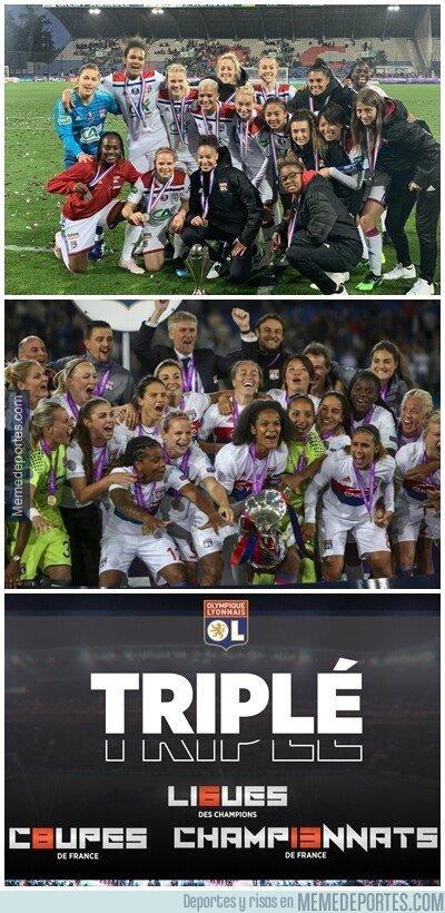 1075423 - 4 champions al hilo, y un nuevo triplete para el Lyon femenil Femenil