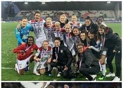 Enlace a 4 champions al hilo, y un nuevo triplete para el Lyon femenil Femenil