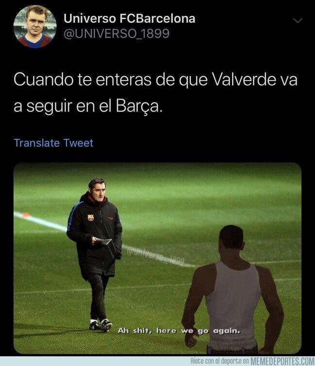 1075434 - Valverde continúa como entrenador del Barça