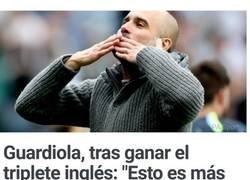 Enlace a No intentes dar lástima, Guardiola