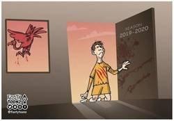 Enlace a El Liverpool hizo la segunda equipación del Barça, por @footytoonz