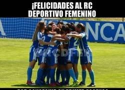 Enlace a Día histórico en A Coruña para el deporte femenino