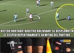 Enlace a En Bolivia un árbitro sufrió un infarto mientras dirigía a mas de 4 mil metros de altura
