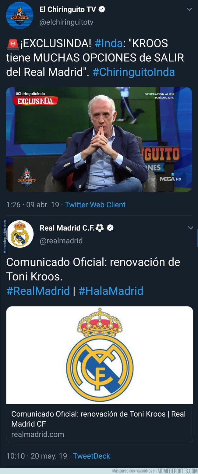1075624 - La predicción de Eduardo Inda sobre este jugador del Real Madrid que se le ha vuelto en contra en un solo mes