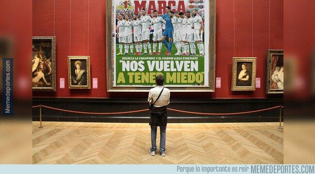1075648 - Posiblemente, la mejor portada que sacó Marca en la temporada
