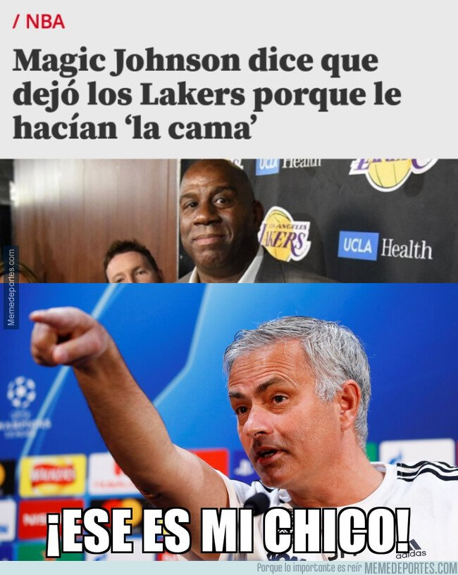 1075688 - Mourinho sabe cómo se sintió Magic Johnson
