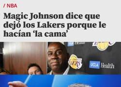 Enlace a Mourinho sabe cómo se sintió Magic Johnson