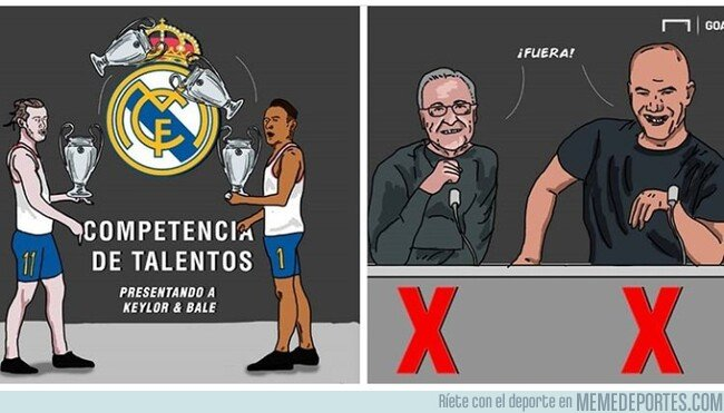 1075700 - Las Copas de Europa no son suficiente para Keylor y Bale, por @goalenespanol