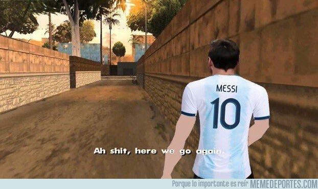 1075806 - Messi otra vez con Argentina, por @UtdKal