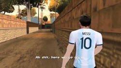 Enlace a Messi otra vez con Argentina, por @UtdKal