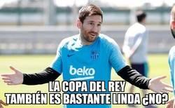 Enlace a Messi se tendrá que conformar