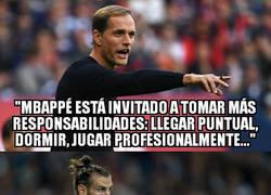 Enlace a Tantas responsabilidades serían demasiado para Bale
