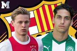 Enlace a El increíble duelo que vivieron De Jong contra Ludovit Reis (los nuevos fichajes del Barça) en Holanda