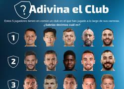 Enlace a ¿Sabes qué club tienen en común estos futbolistas?