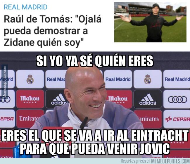 1075987 - De Tomás desempeñará un papel clave para Zidane