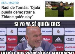 Enlace a De Tomás desempeñará un papel clave para Zidane