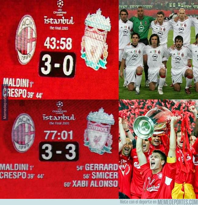 1076018 - Hace 14 años el Liverpool nos enseñó que nunca hay que dejar de creer