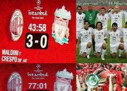 Enlace a Hace 14 años el Liverpool nos enseñó que nunca hay que dejar de creer