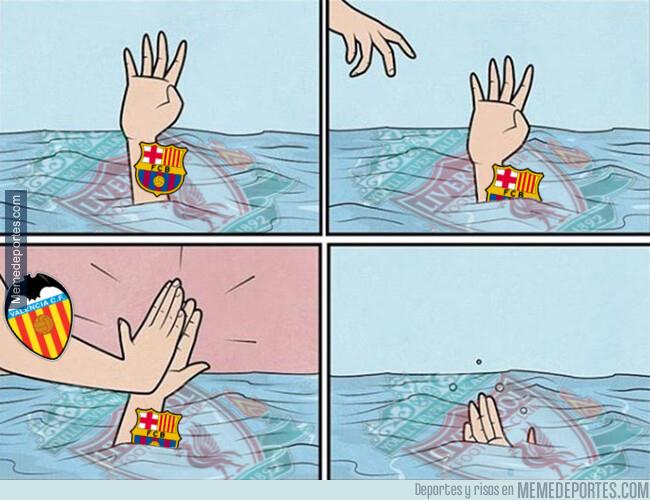 1076115 - El Valencia hunde al Barça más de lo que estaba