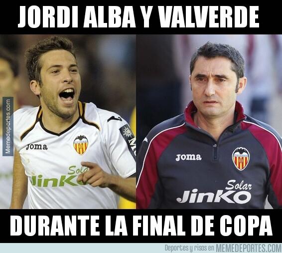 1076120 - Jordi Alba y Valverde fueron claves para la victoria ché