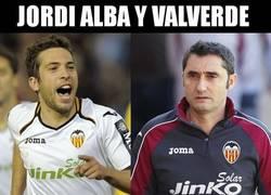 Enlace a Jordi Alba y Valverde fueron claves para la victoria ché
