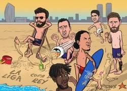 Enlace a La temporada del Barça, por @brfootball