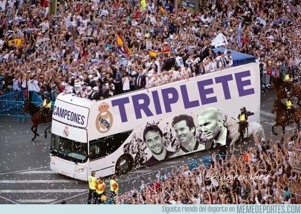 1076208 - En Madrid só que se celebra el triplete