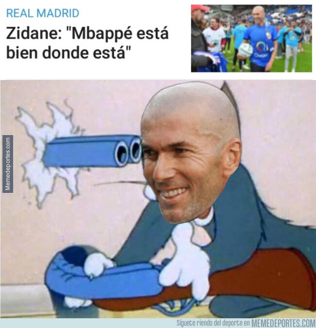 1076325 - Zidane descarta a Mbappé cuando más posible parecía