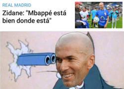Enlace a Zidane descarta a Mbappé cuando más posible parecía