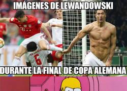 Enlace a Fue una final muy 'movidita' para Lewandowski