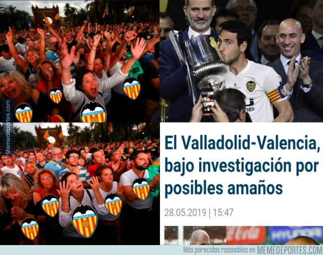 1076411 - Para una alegría que tiene el Valencia y se la fastidian a los 3 días