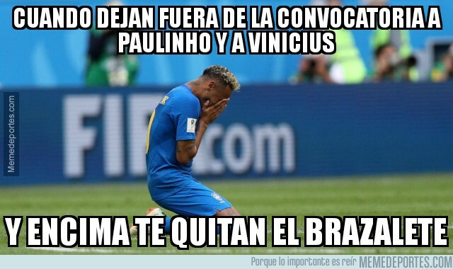 1076426 - La Selección no deja de decepcionar a Neymar