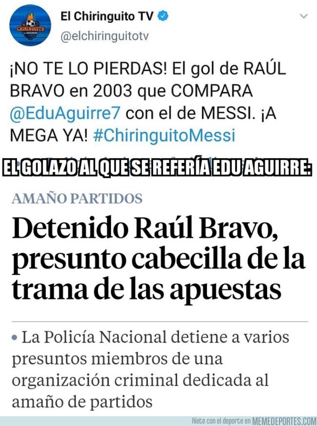 1076431 - ¡Menudo golazo de Raúl Bravo!